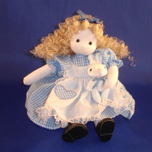 Alice in Wonderland musical doll