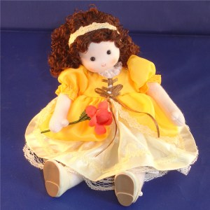 Belle musical doll