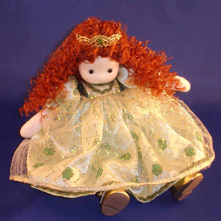 Irish Princess Musical Doll