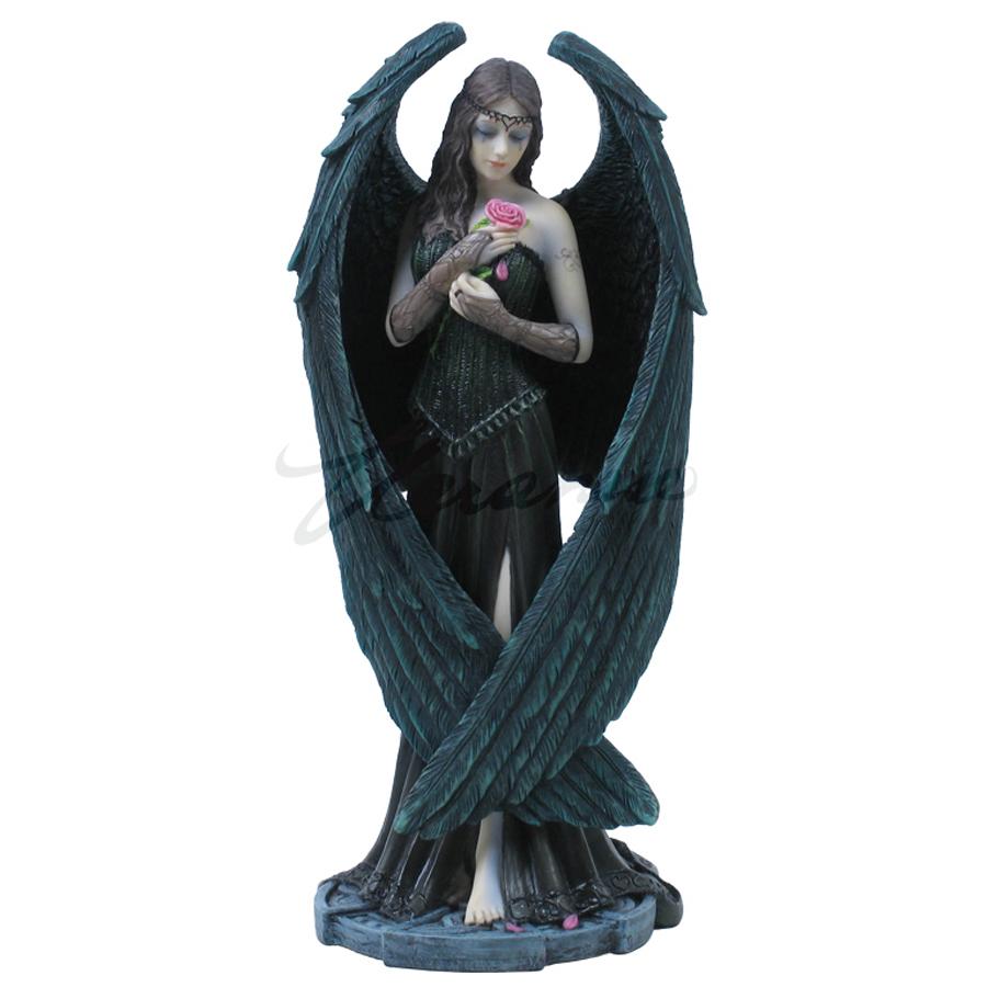 Dark Angel with Rose