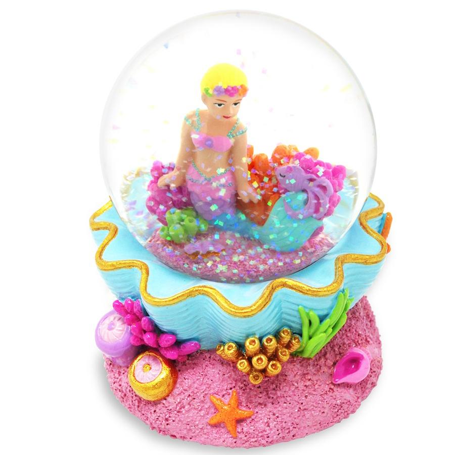Under the Sea Musical Mermaid Water Globe