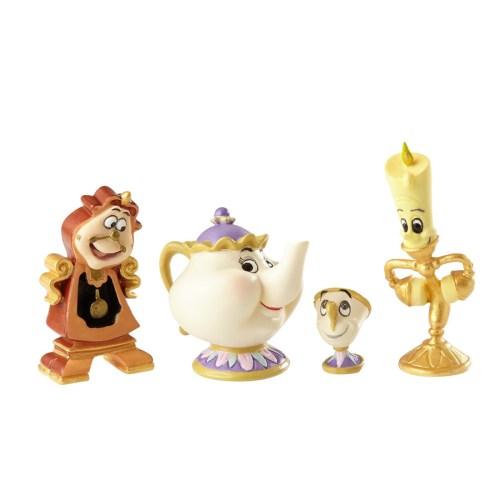 Beauty and the Beast Enchanted miniature set