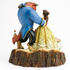 Beauty and the Beast Tale as Old as Time Jim Shore back view