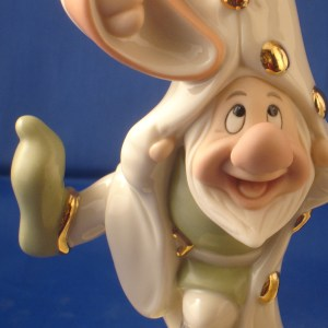 Bashful Lenox Dancing figurine close up