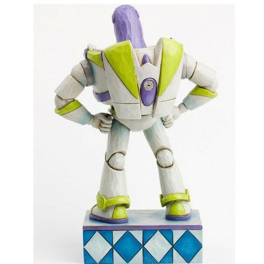 Buzz Lightyear figurine by Jim Shore back view