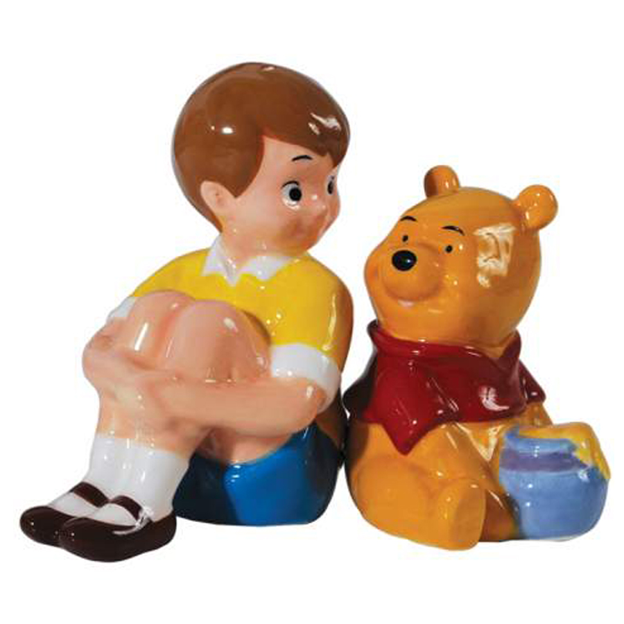 Christopher and Pooh salt and pepper