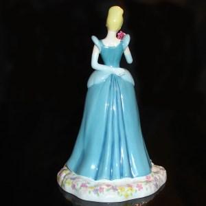 Cinderella Royal Doulton back view