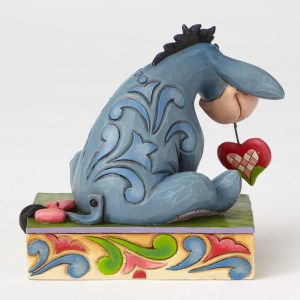 Eeyore Heart Love Jim Shore back view