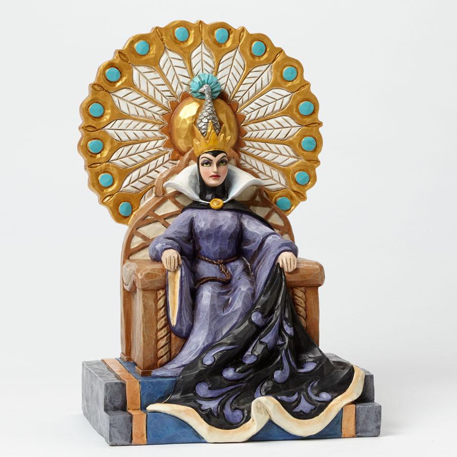 Evil Queen throne Jim Shore side