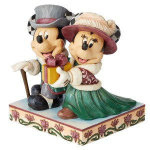 Mickey-and-Minnie-Victorian-Christmas-Jim-Shore-side-view