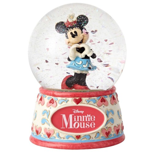 Minnie sweetheart water globe Jim Shore