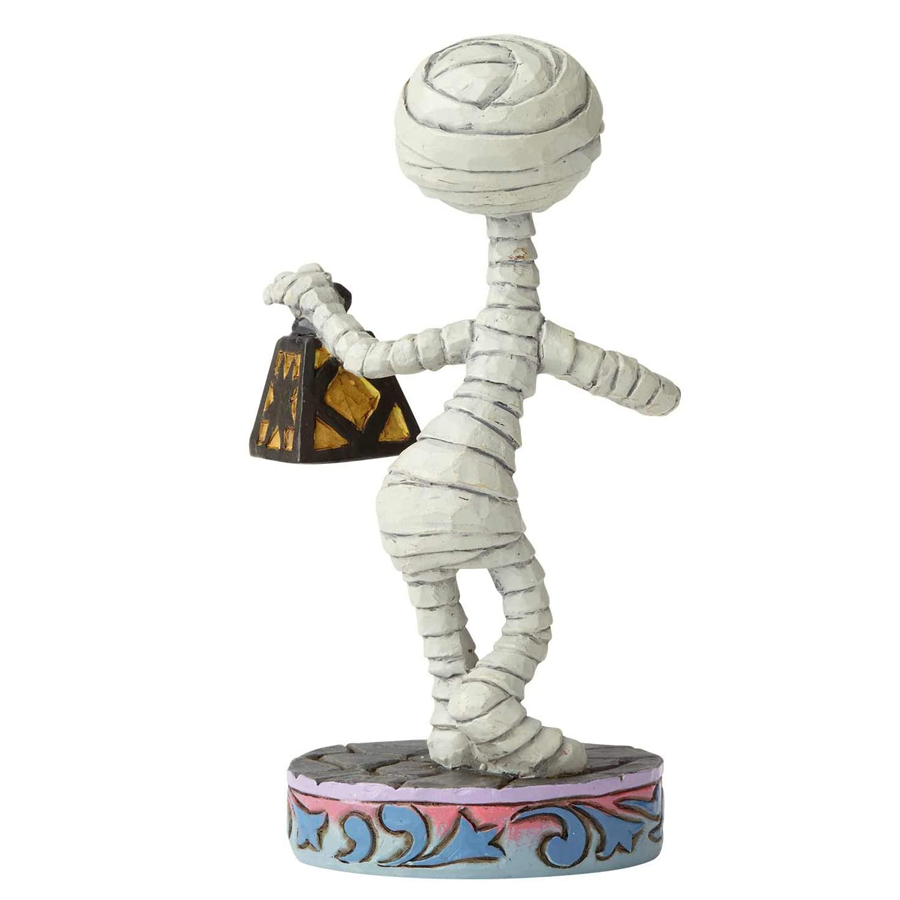 Mummy Kid figurine from Nightmare before Christmas by Jim Shore back view