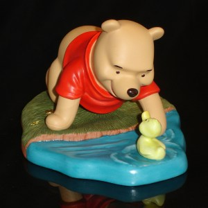Winnie the Pooh with Duck front view