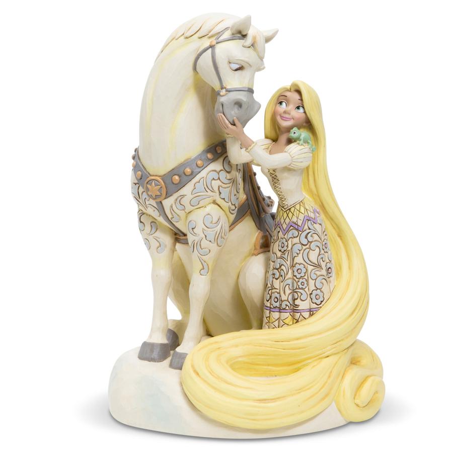 Rapunzel White Woodland by Jim Shore