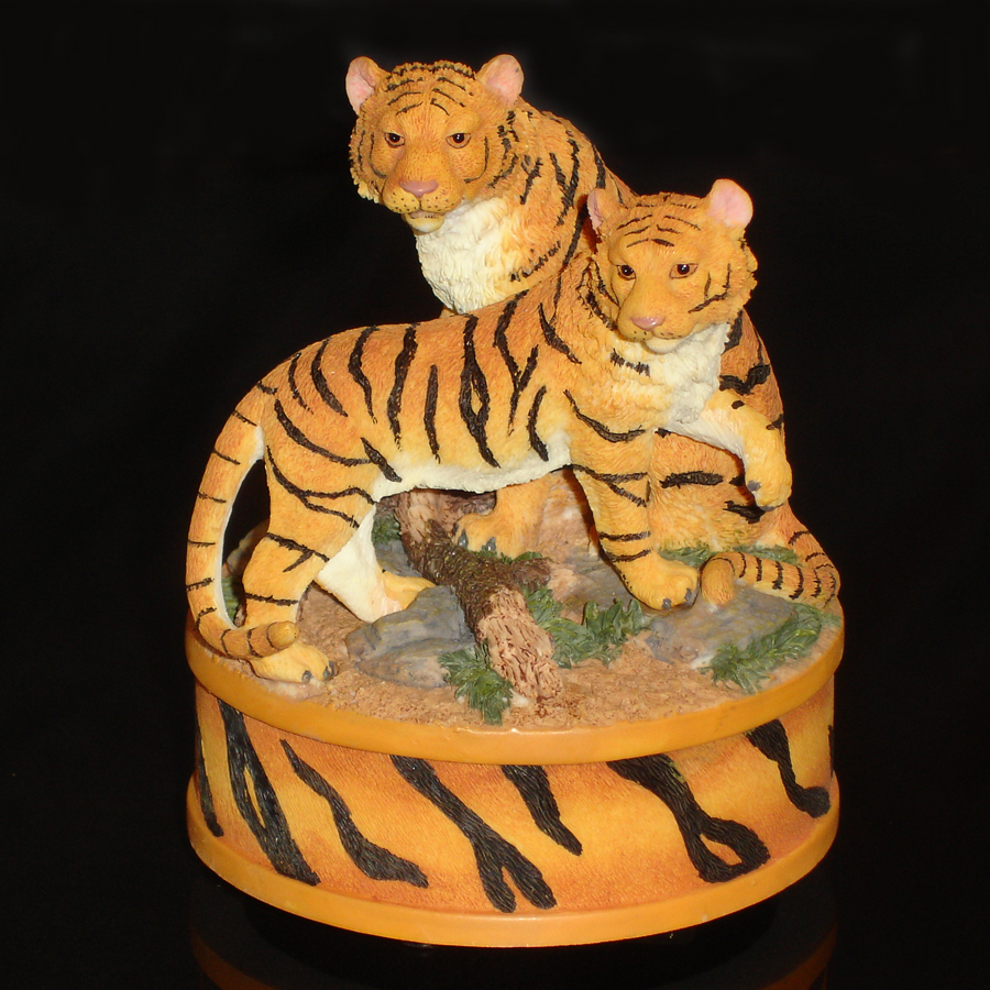 Tigers Music Box front view