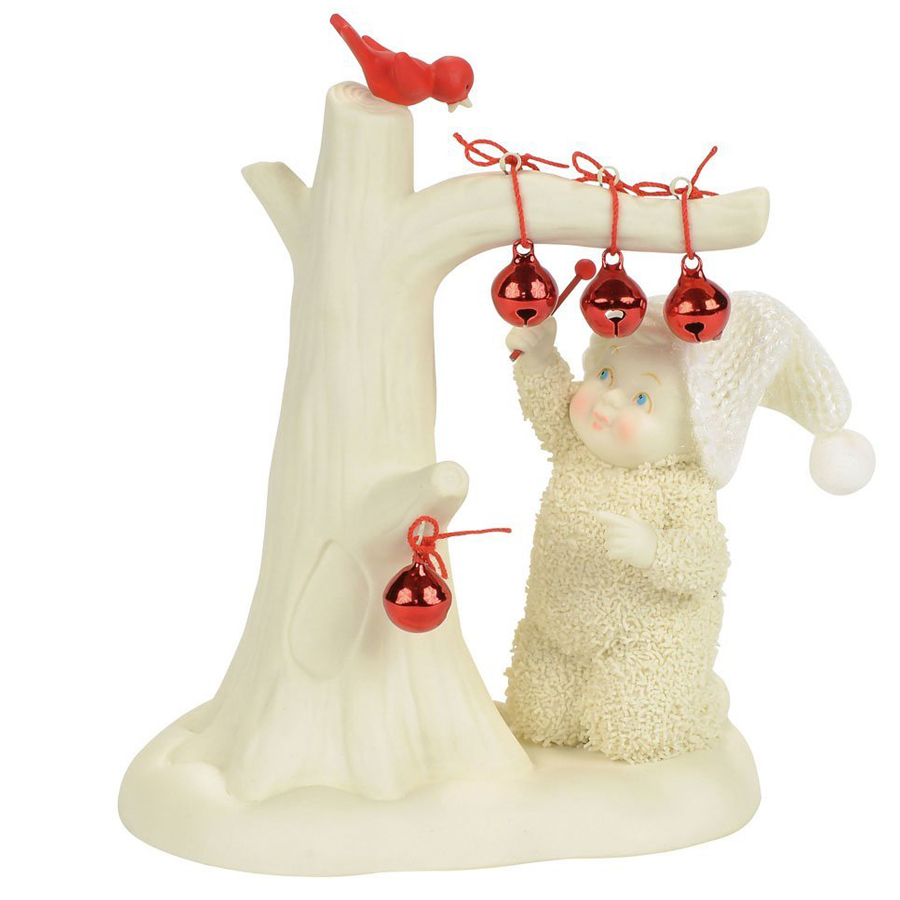 Snow Baby Jingle Bells figurine