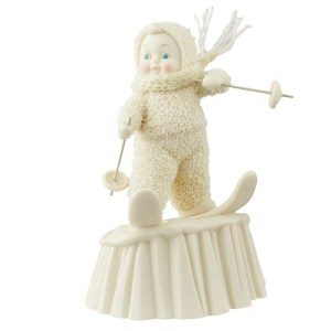 Snow Baby King of the Hill figurine