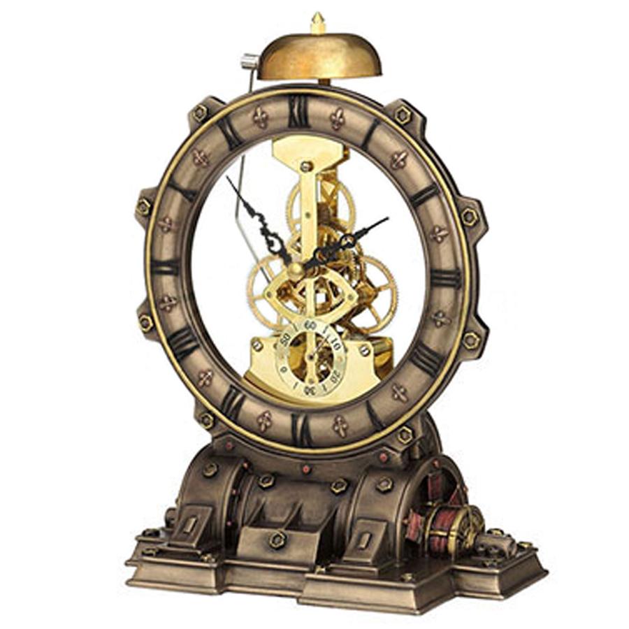 Steampunk-Generator-Clock-side-view