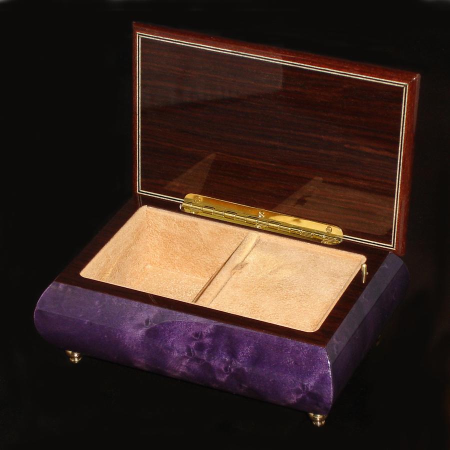 Purple-Italian-Musical-Jewelry-Box-04A-Opened