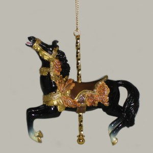 Black-Carousel-Ornament