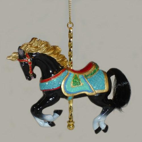 Black-Carousel-Ornament-E0264-F