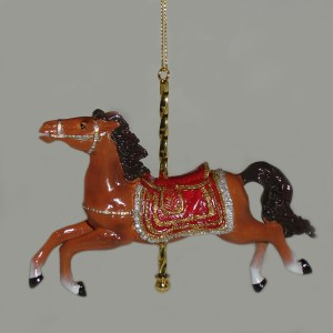Brown-Carousel-Ornament-C8523-B