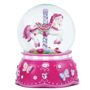 Carnival-Carousel-Medium-Water-Globe