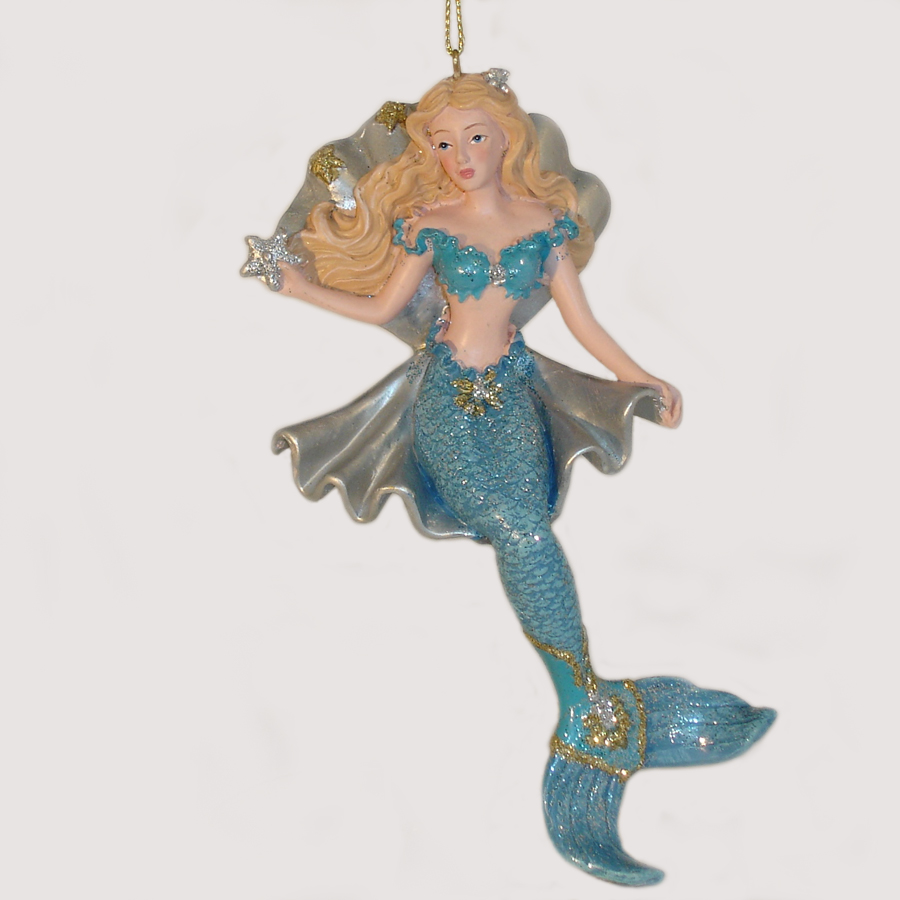 Mermaid-Ornament-E0214A