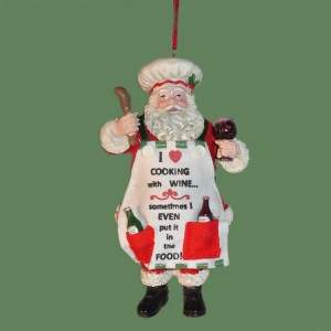 Santa-Wine-Ornament
