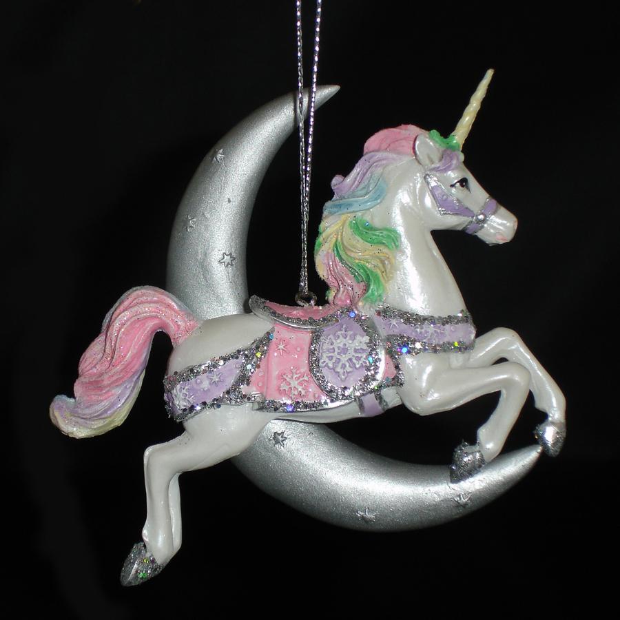 Unicorn-Moon-Ornament-Front