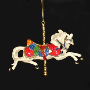 White-Carousel-Ornament
