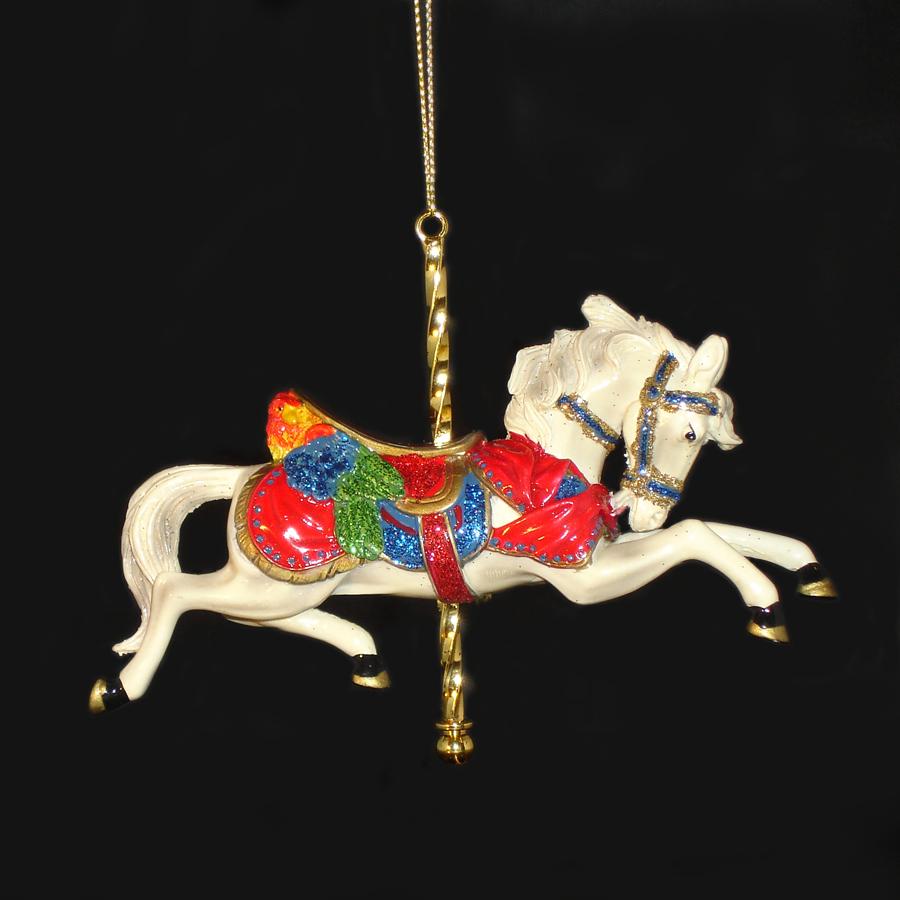 White-Carousel-Ornament
