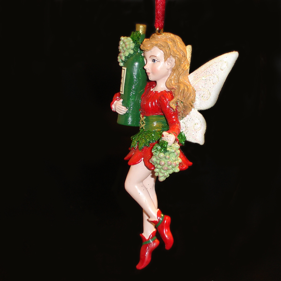 White-Wine-Fairy-Ornament-side-view