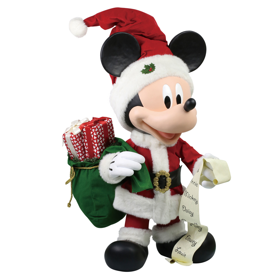 Merry-Mickey-huge-figurine-angle-view