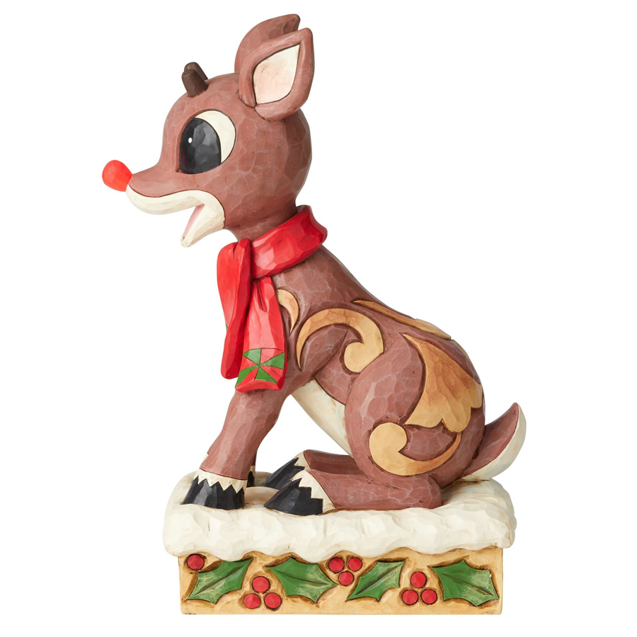 Rudolph-Large-side-view-light-on