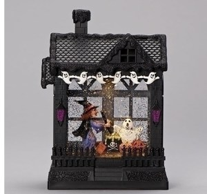 Halloween-Haunted-House-Lantern