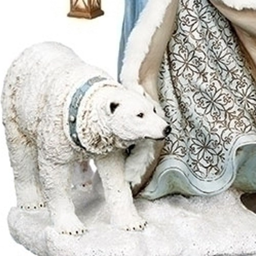 Large-Blue-Santa-Polar-Bear-Close-Up