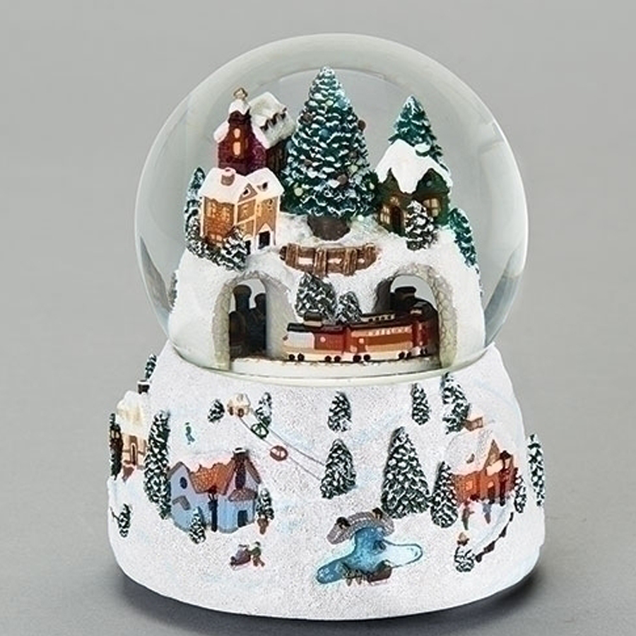 Animated-Mountain-Train-Snow-Globe