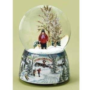 Boy-with-Dog-musical-snow-globe