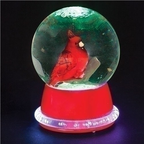 Cardinal-Lighted-Mini-Globe