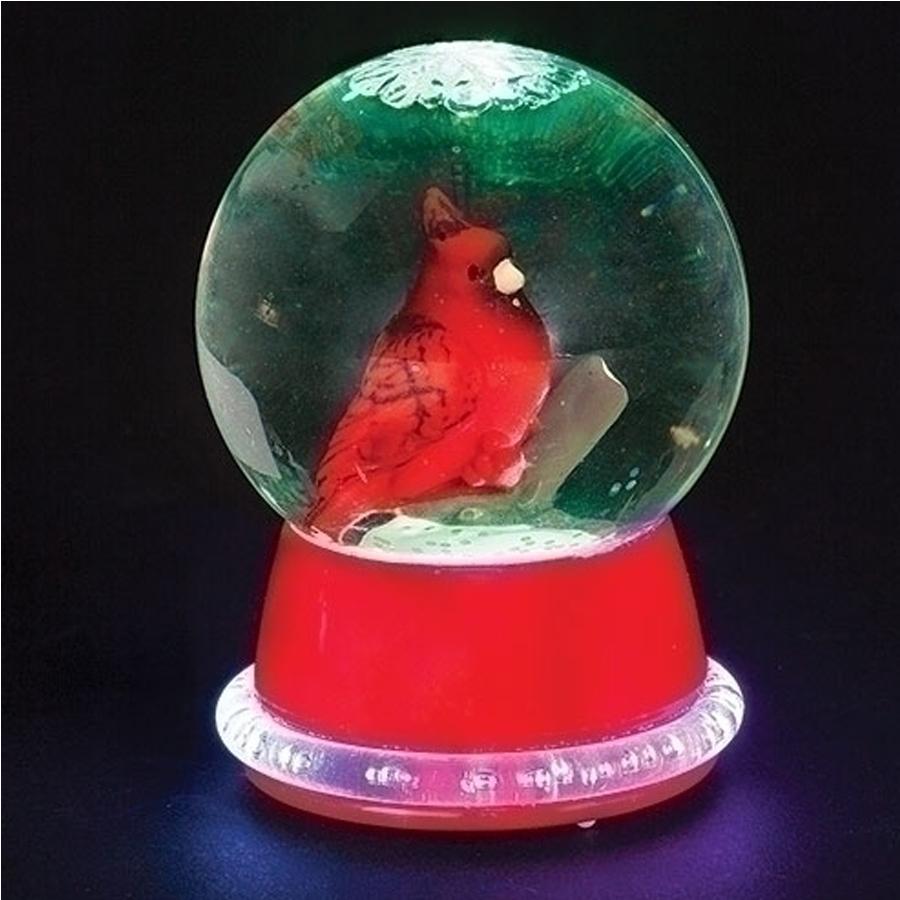 Cardinal-Lighted-Mini-Globe