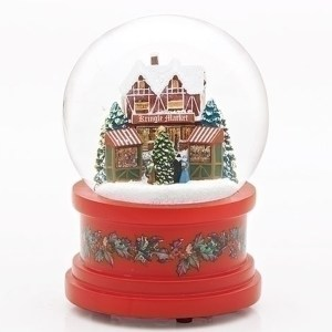 German-Market-Snow-Globe