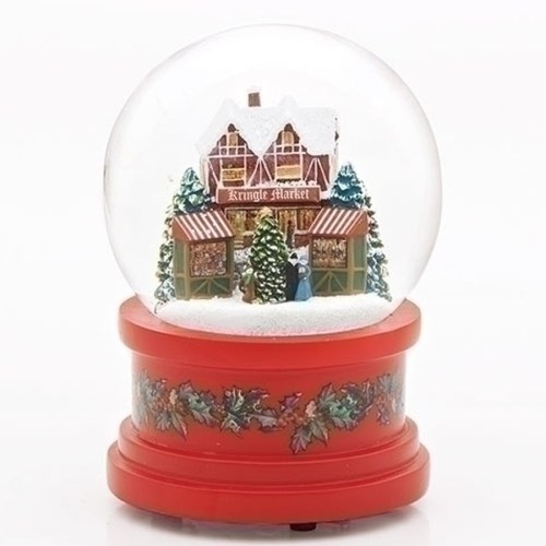 German-Market-Snow-Globe