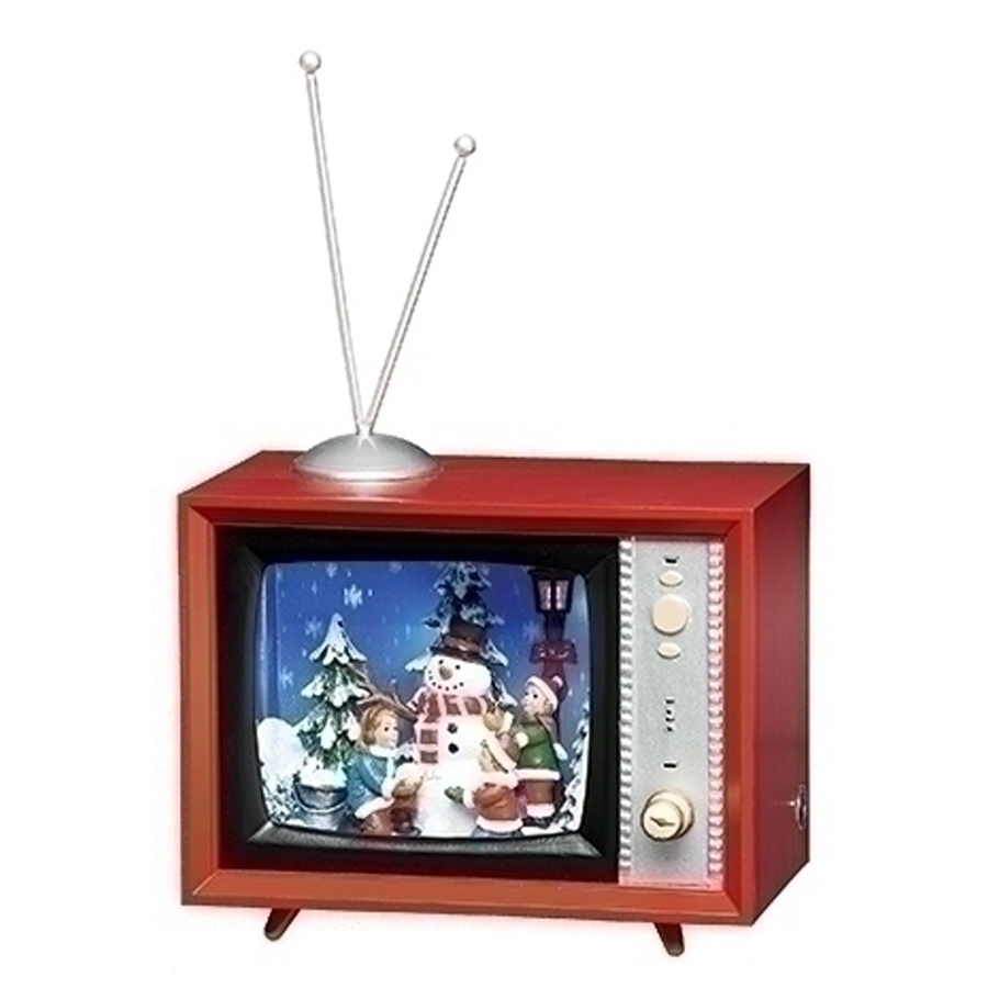 Vintage-TV-Snowman-Children