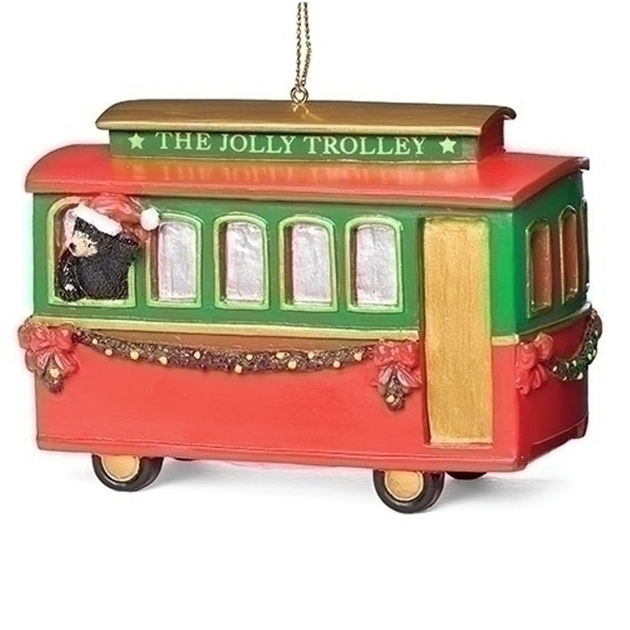 Trolley-Car-Ornament