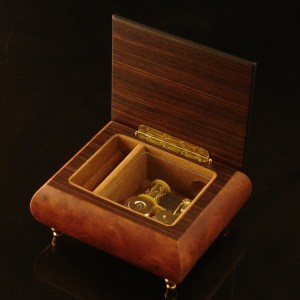 Italian-Inlay-Musical-Ring-Box-Dark-Elm-open