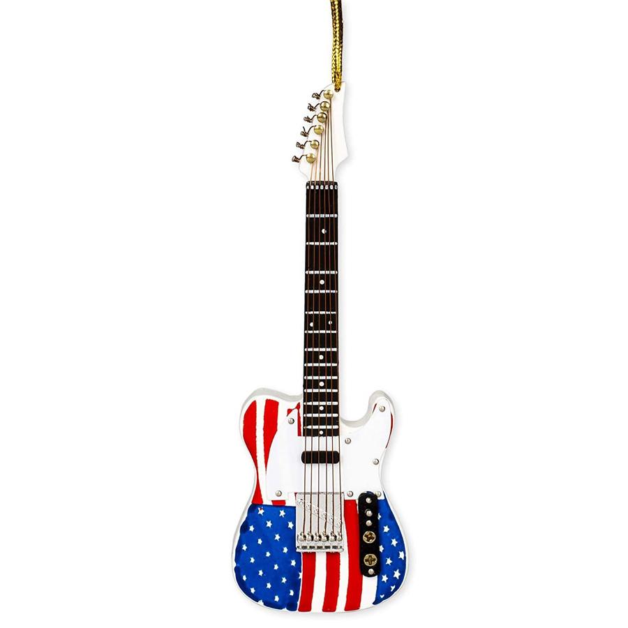 Flag-Guitar-Ornament