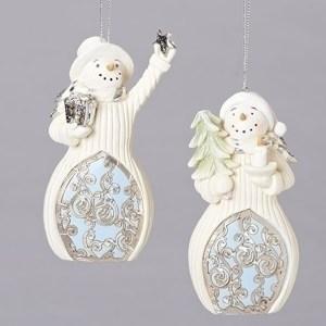 Snowman-Ornament-Blue-White-Laser