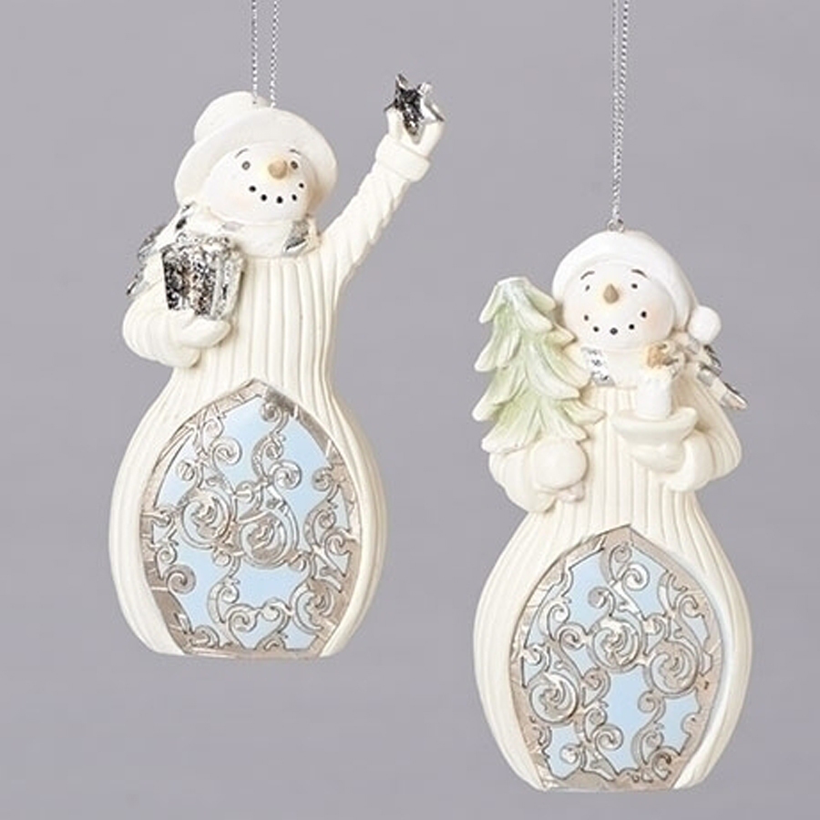 Snowman-Ornament-Blue-White-Laser