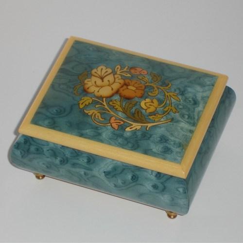 Italian-Inlay-Musical-Jewelry-Box-Light-Blue